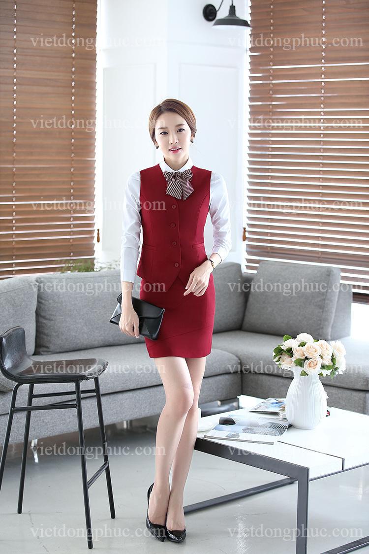 Đồng phục áo gile Nữ 25
