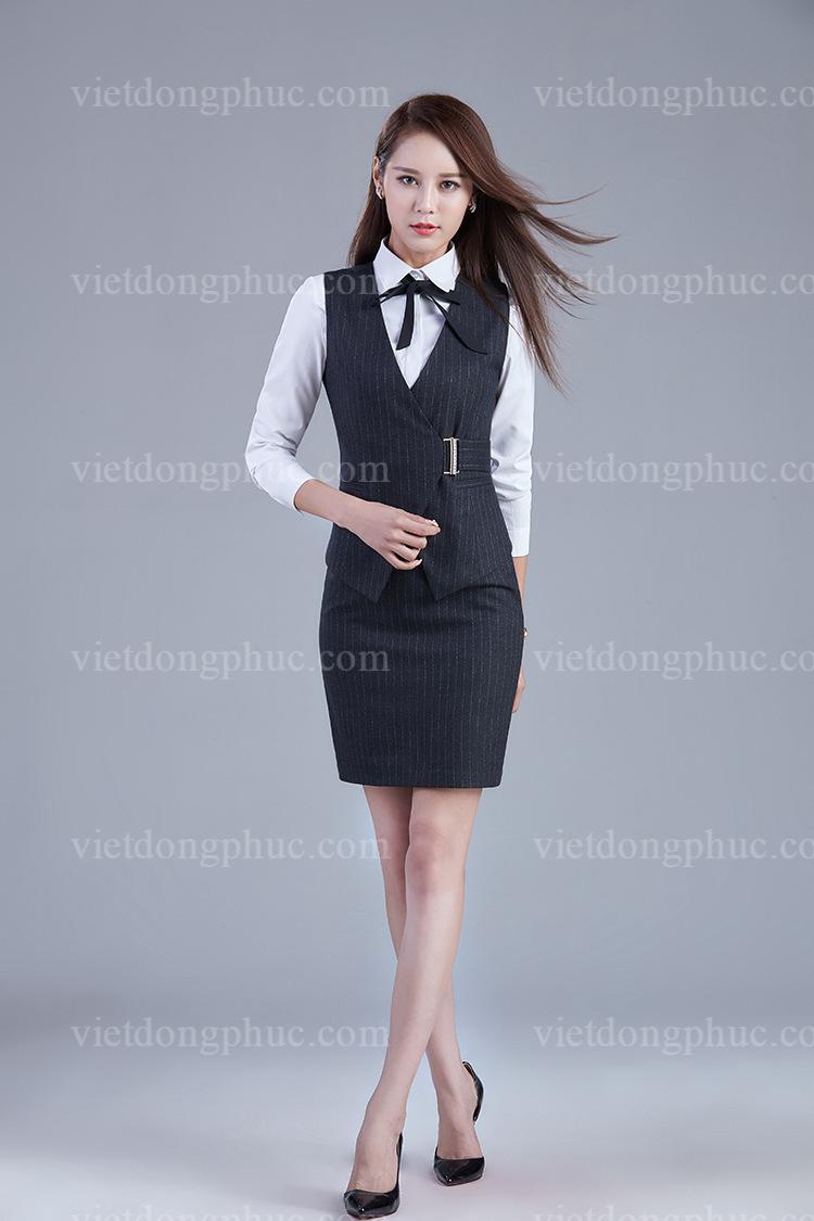 Đồng phục áo gile Nữ 26