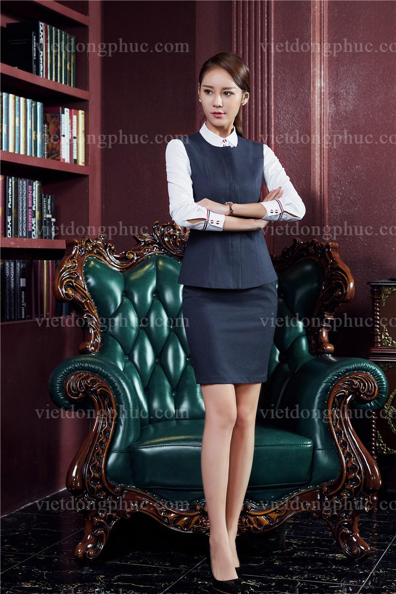 Đồng phục áo gile Nữ 27