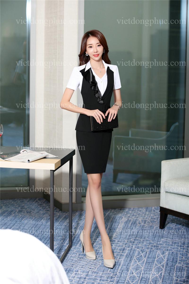 Đồng phục áo gile Nữ 29