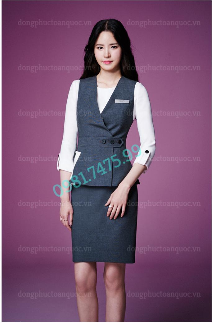 Đồng phục áo gile Nữ 30