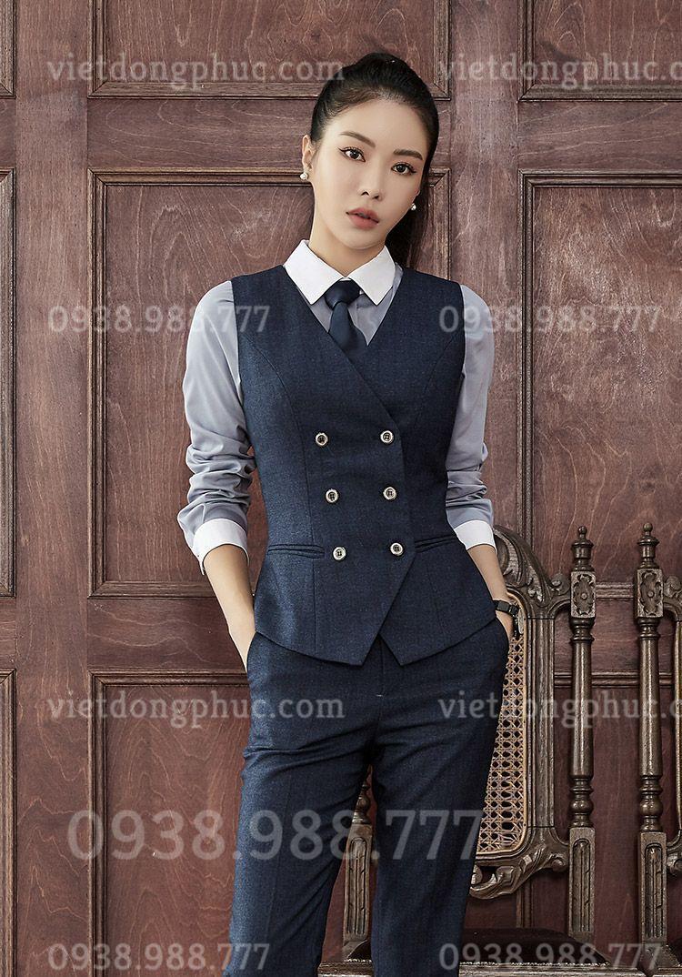 Đồng phục áo gile Nữ 31