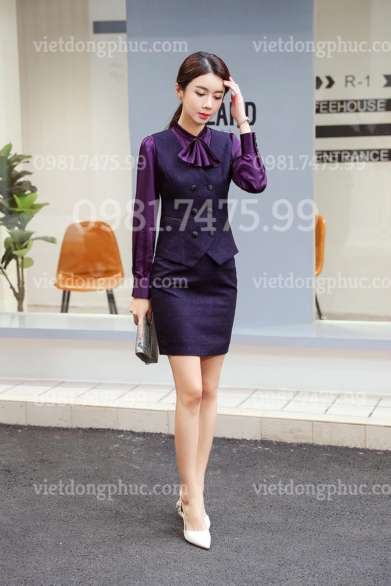 Đồng phục áo gile Nữ 35