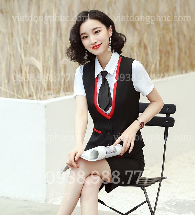 Đồng phục áo gile Nữ 36