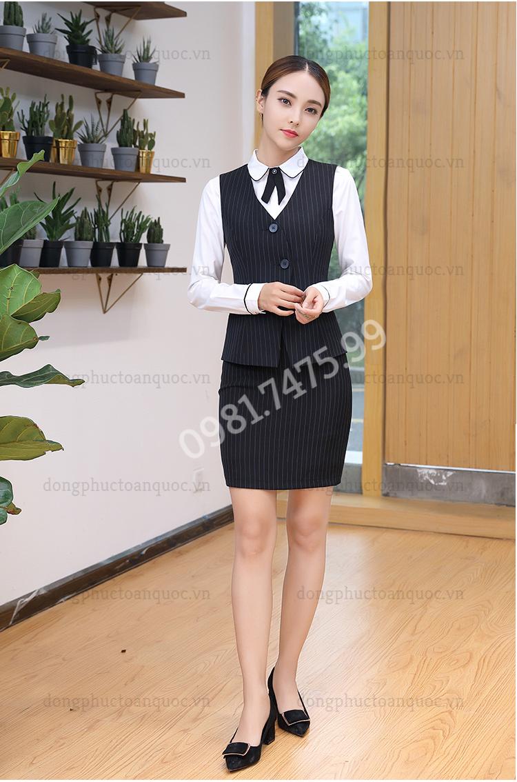 Đồng phục áo gile Nữ 40