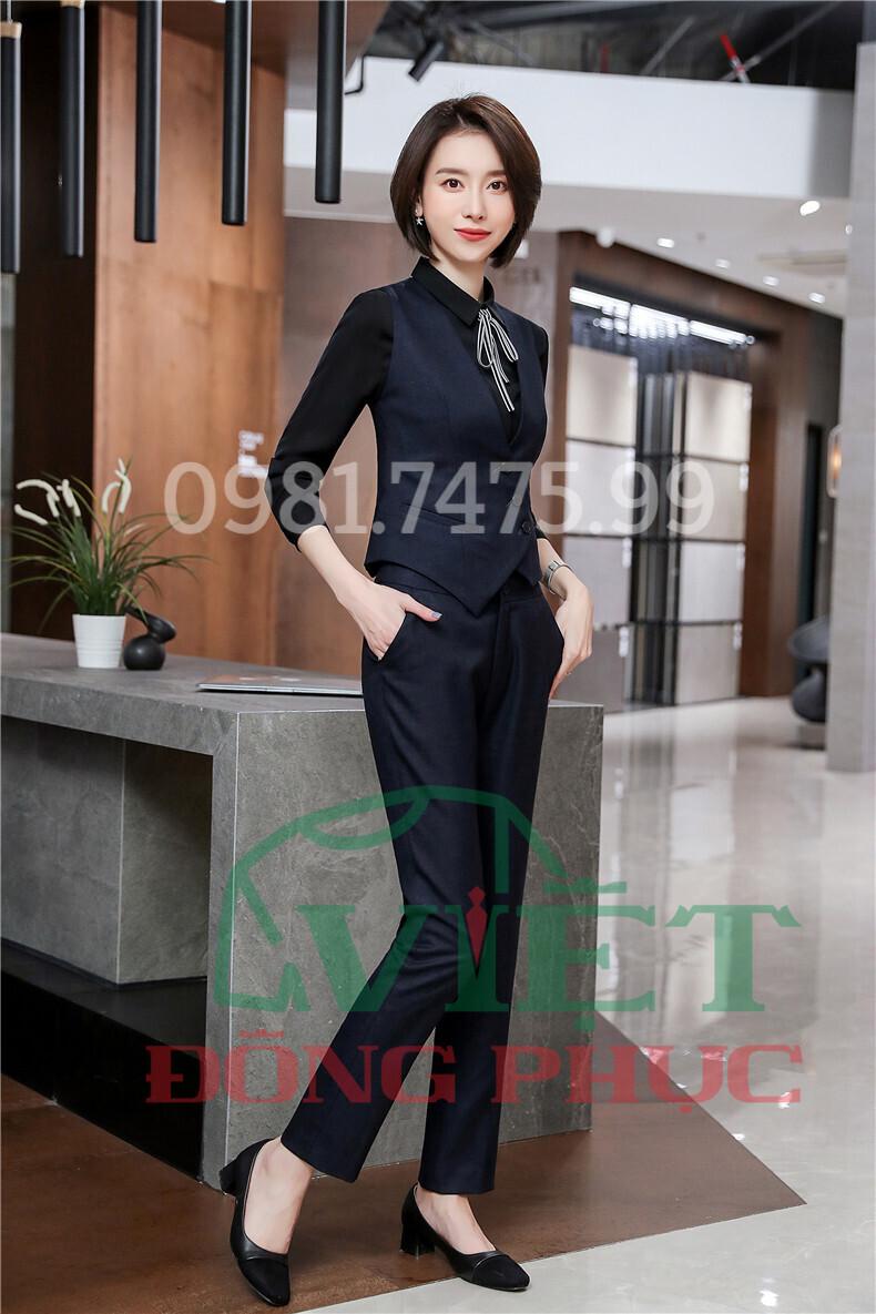 Đồng phục áo gile Nữ 45