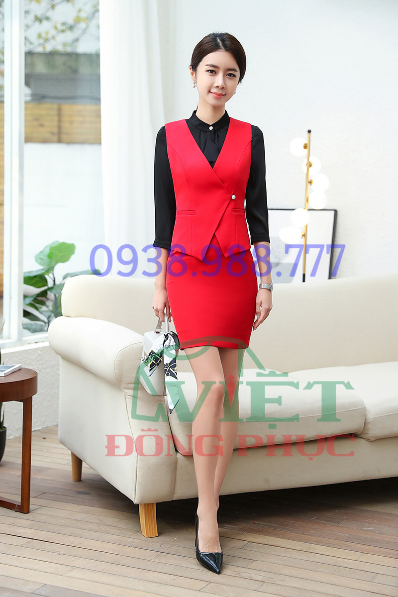Đồng phục áo gile Nữ 55