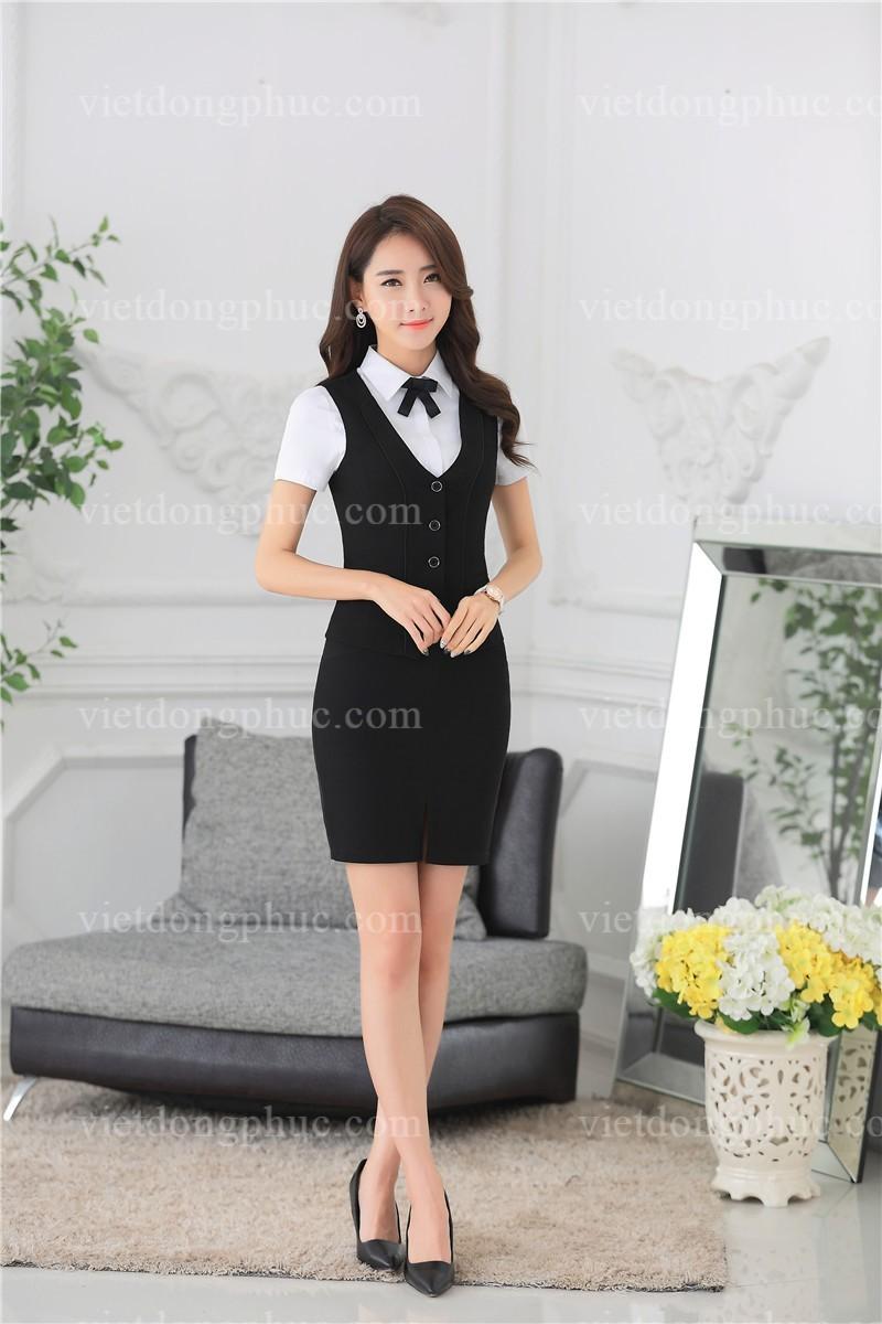 Đồng phục áo gile Nữ 06
