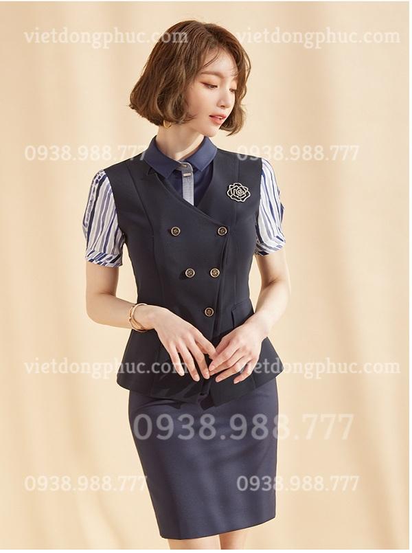 Đồng phục áo gile Nữ 07