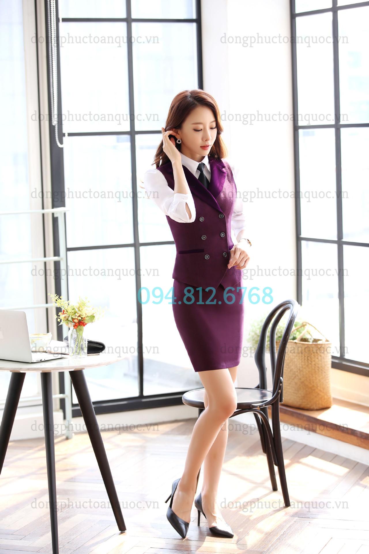 Đồng phục áo gile Nữ 70