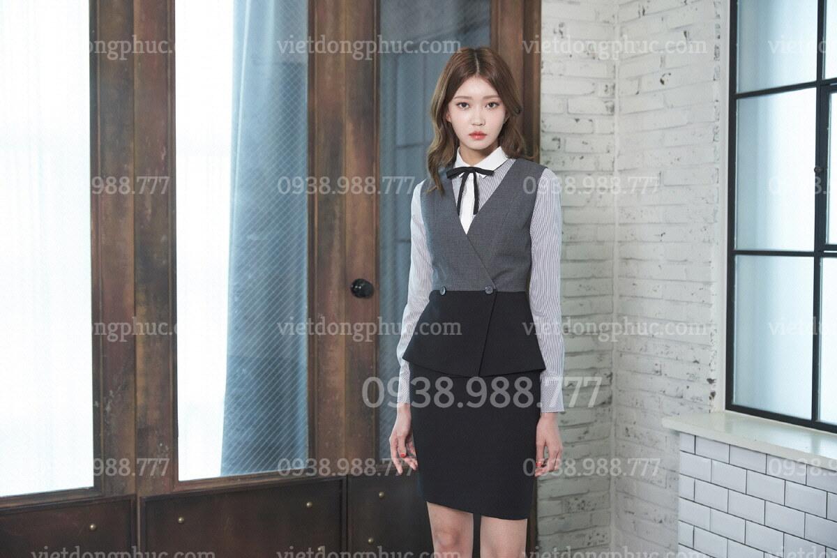 Đồng phục áo gile Nữ 75