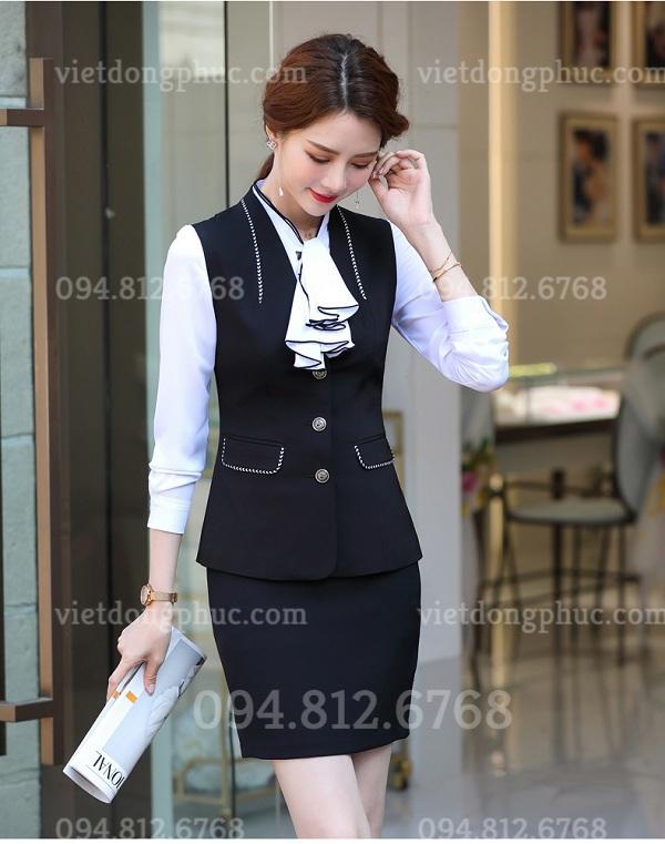 Đồng phục áo gile Nữ 08