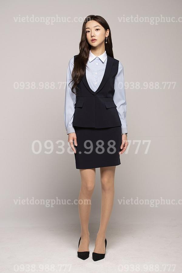 Đồng phục áo gile Nữ 09