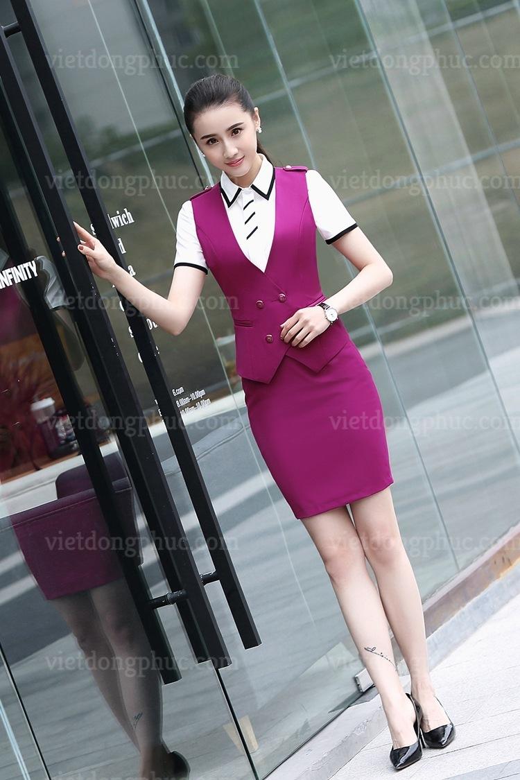 Đồng phục áo gile Nữ 91