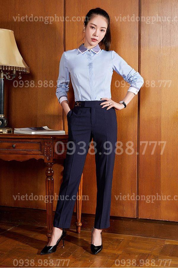 Đồng phục áo sơ mi Nữ 10