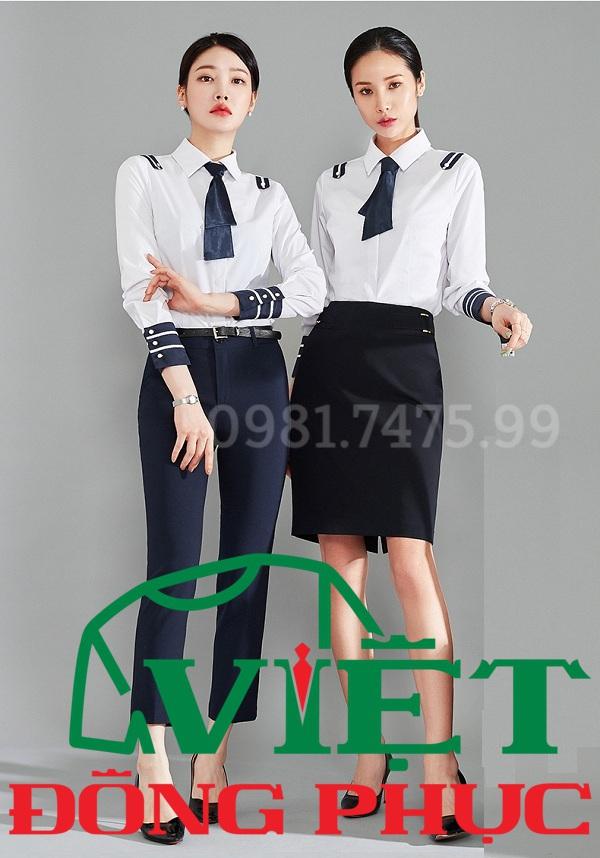 Đồng phục áo sơ mi Nữ 19
