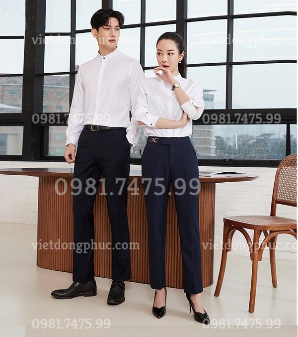 Đồng phục áo sơ mi Nữ 06