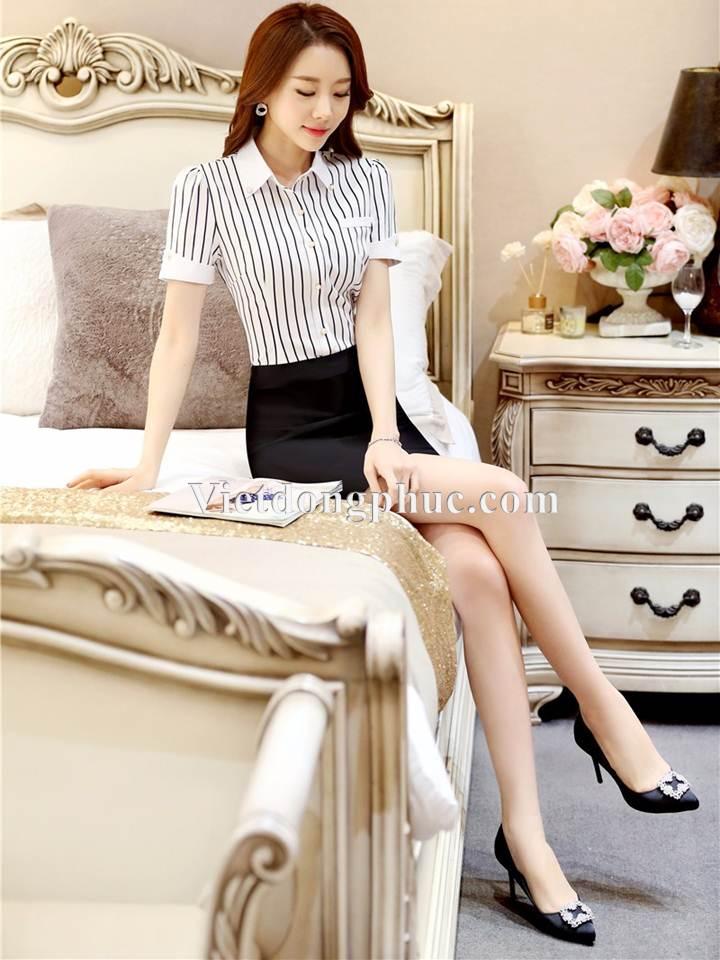 Đồng phục áo sơ mi Nữ 13