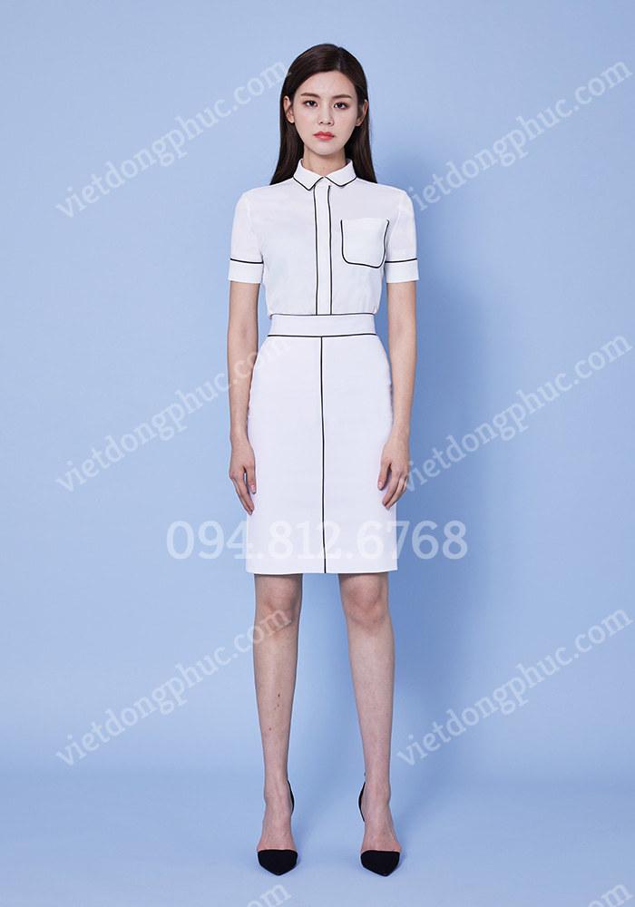 Đồng phục áo sơ mi Nữ 01