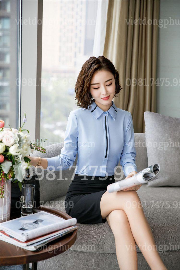 Đồng phục áo sơ mi Nữ 23