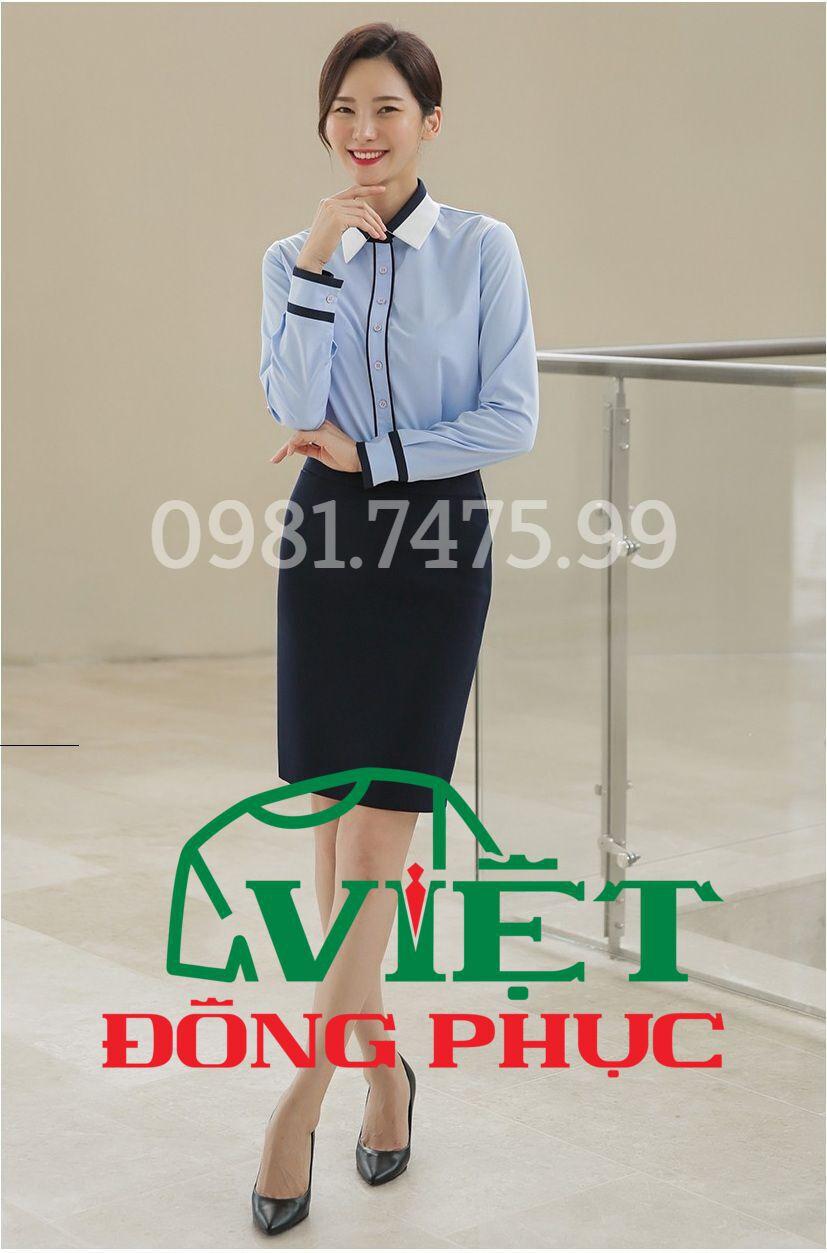 Đồng phục áo sơ mi Nữ 03