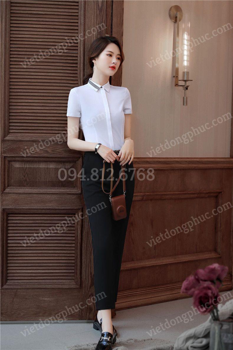 Đồng phục áo sơ mi Nữ 34