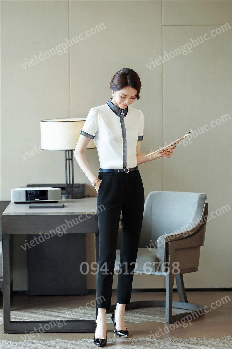 Đồng phục áo sơ mi Nữ 38