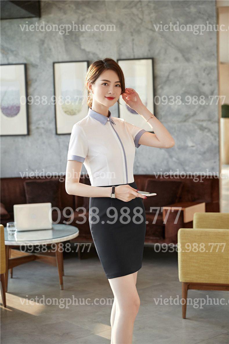 Đồng phục áo sơ mi Nữ 04