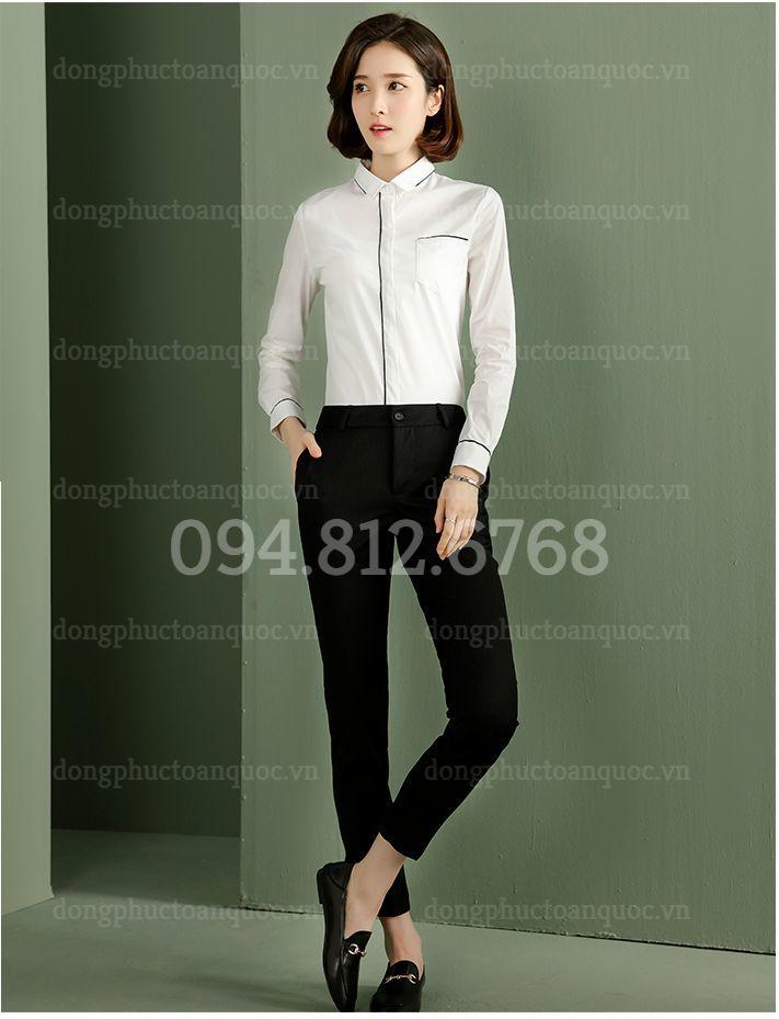Đồng phục áo sơ mi Nữ 05