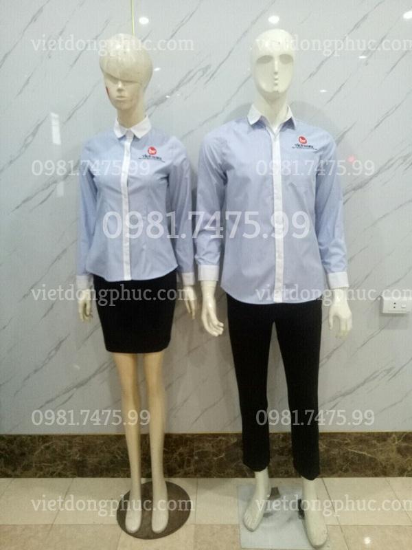 Đồng phục áo sơ mi nữ 50