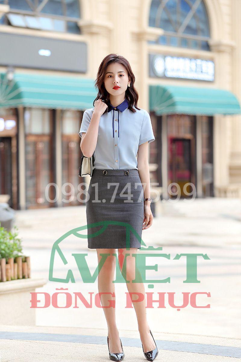 Đồng phục áo sơ mi Nữ 55