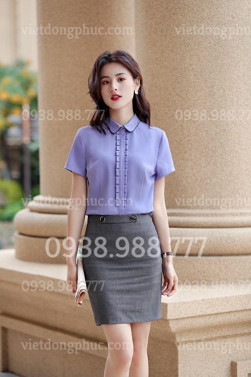 Đồng phục áo sơ mi Nữ 56