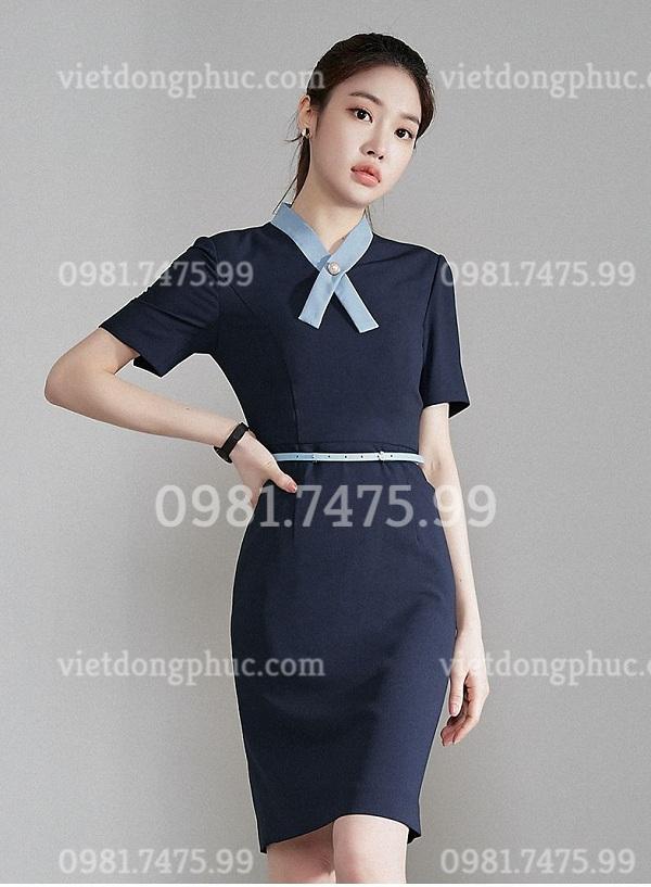 Đồng phục váy liền 13
