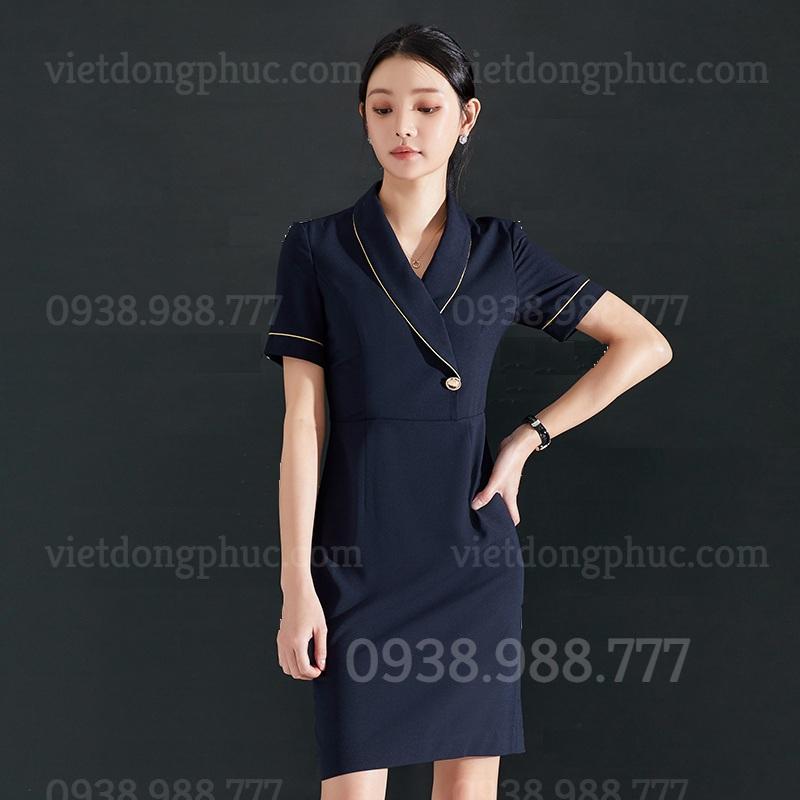 Đồng phục váy liền 02