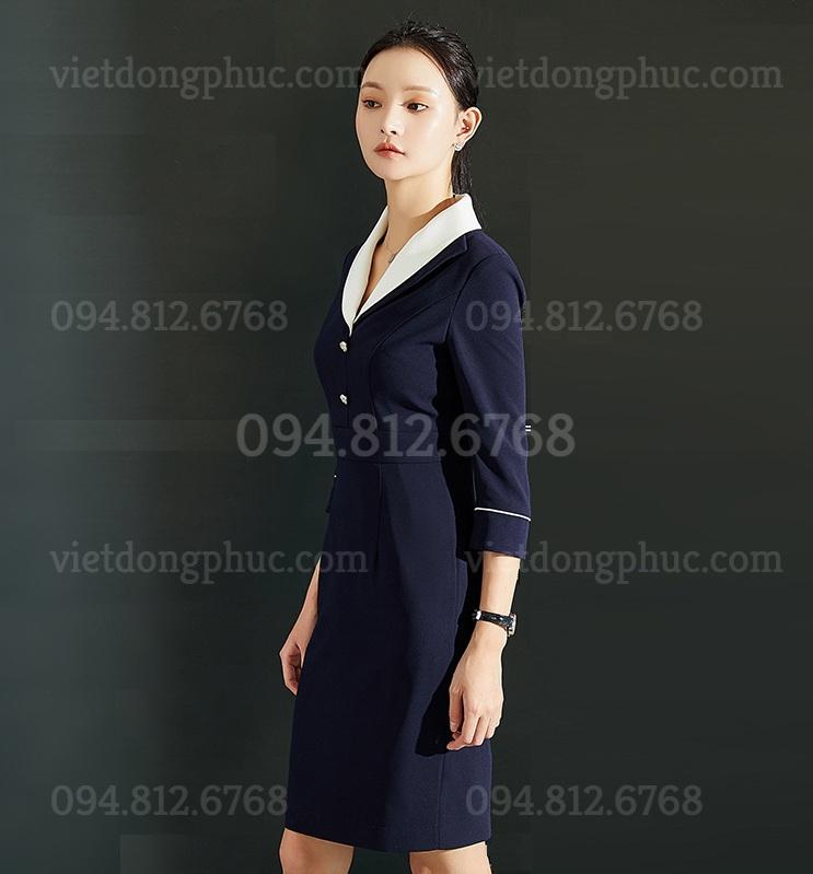 Đồng phục váy liền 03