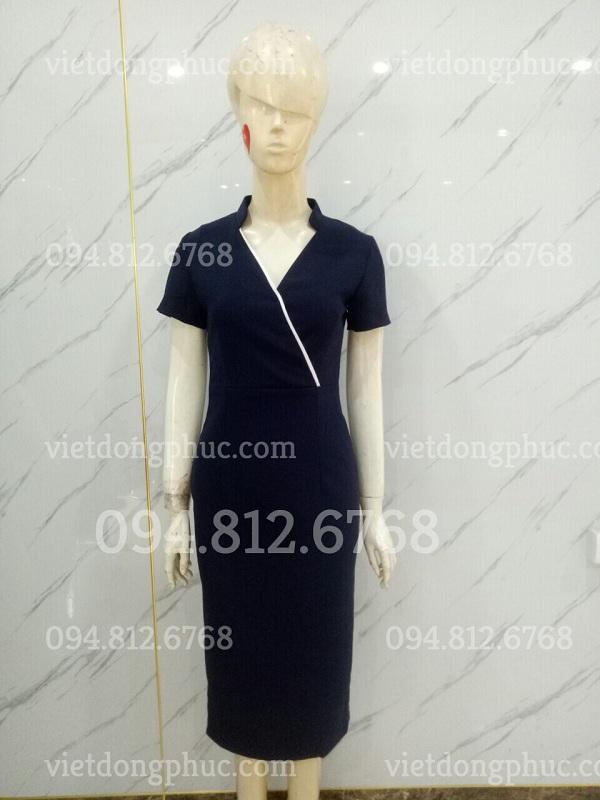 Đồng phục váy liền 04