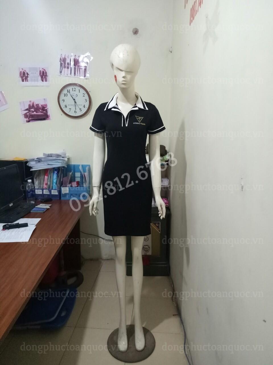 Mẫu đồng phục váy liền công sở đẹp, cập nhật xu hướng mới nhất 2018