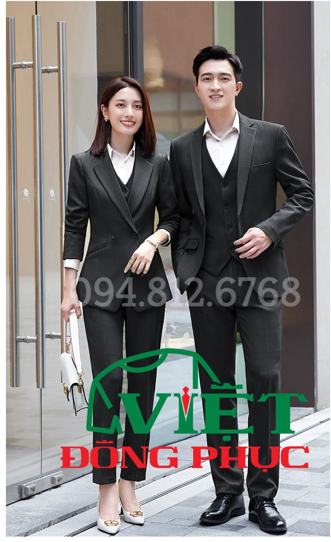 Đồng phục áo Vest Nữ 01