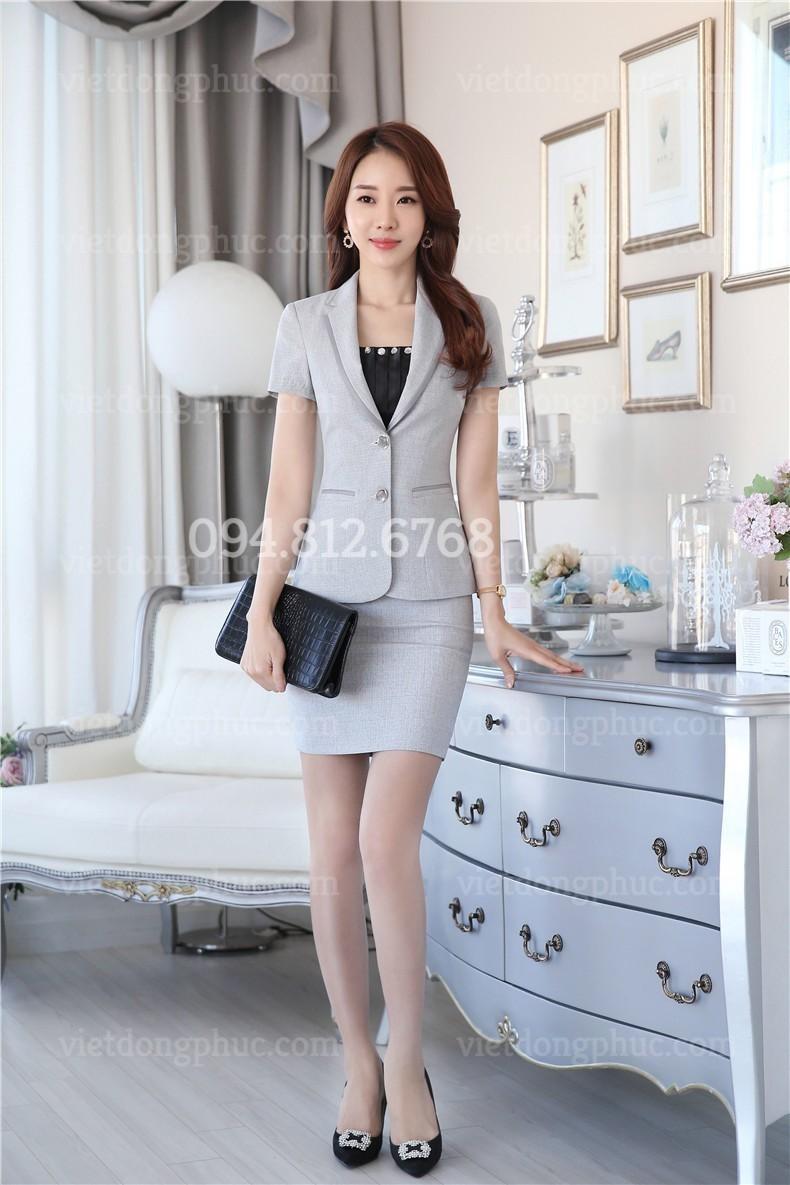 Đồng phục áo Vest Nữ 10