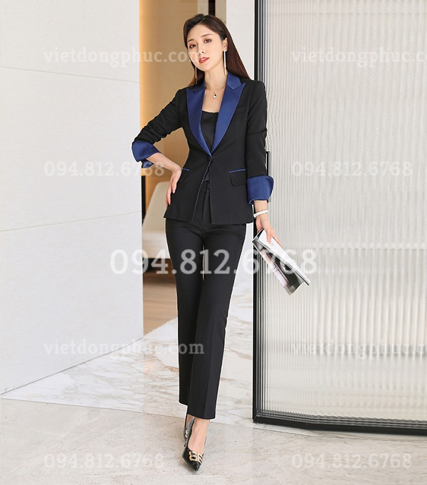 Đồng phục áo Vest Nữ 12