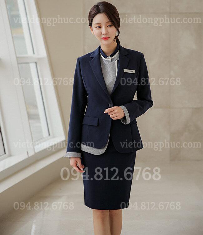 Đồng phục áo Vest Nữ 13
