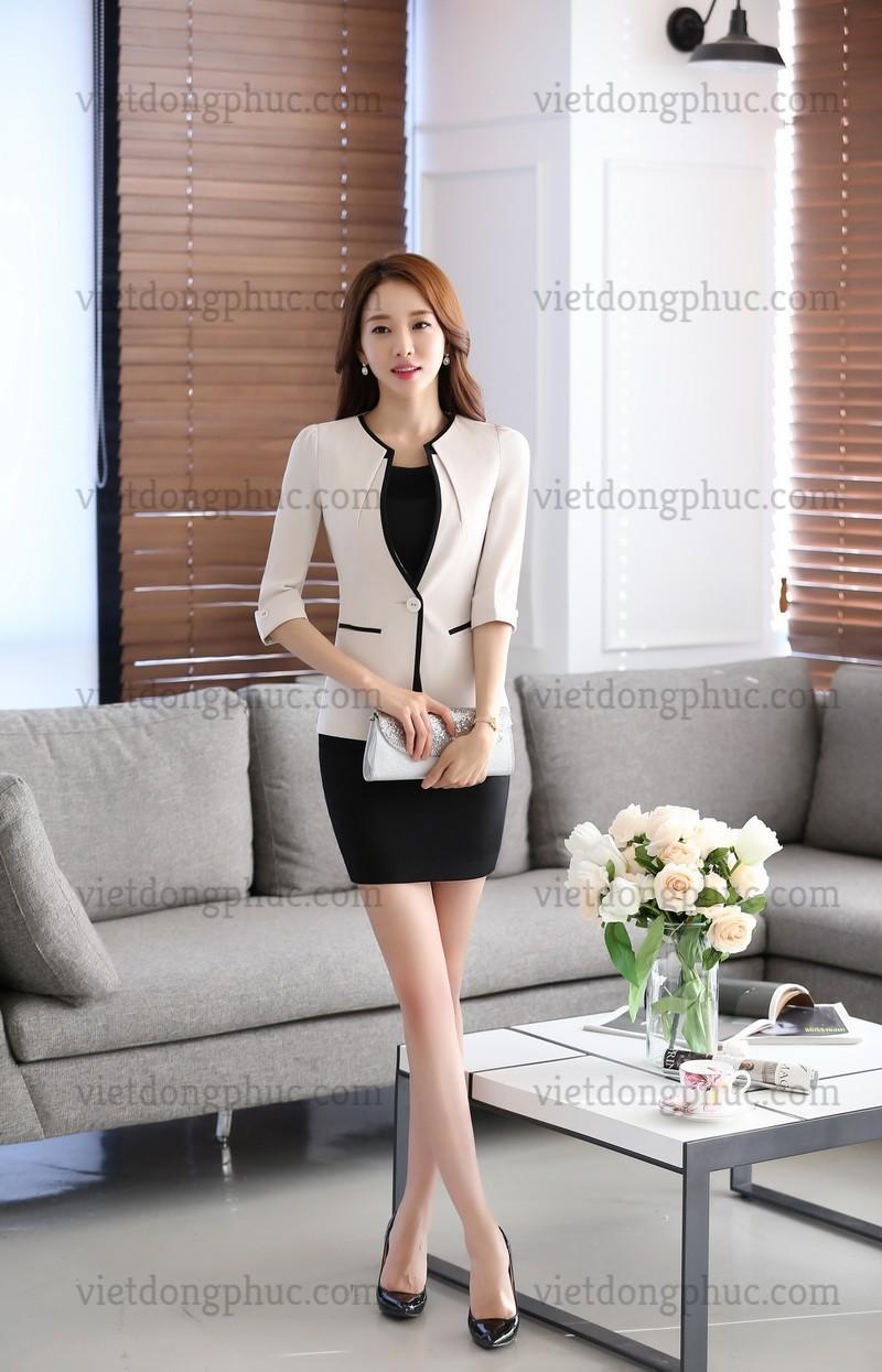 Đồng phục áo Vest Nữ 14