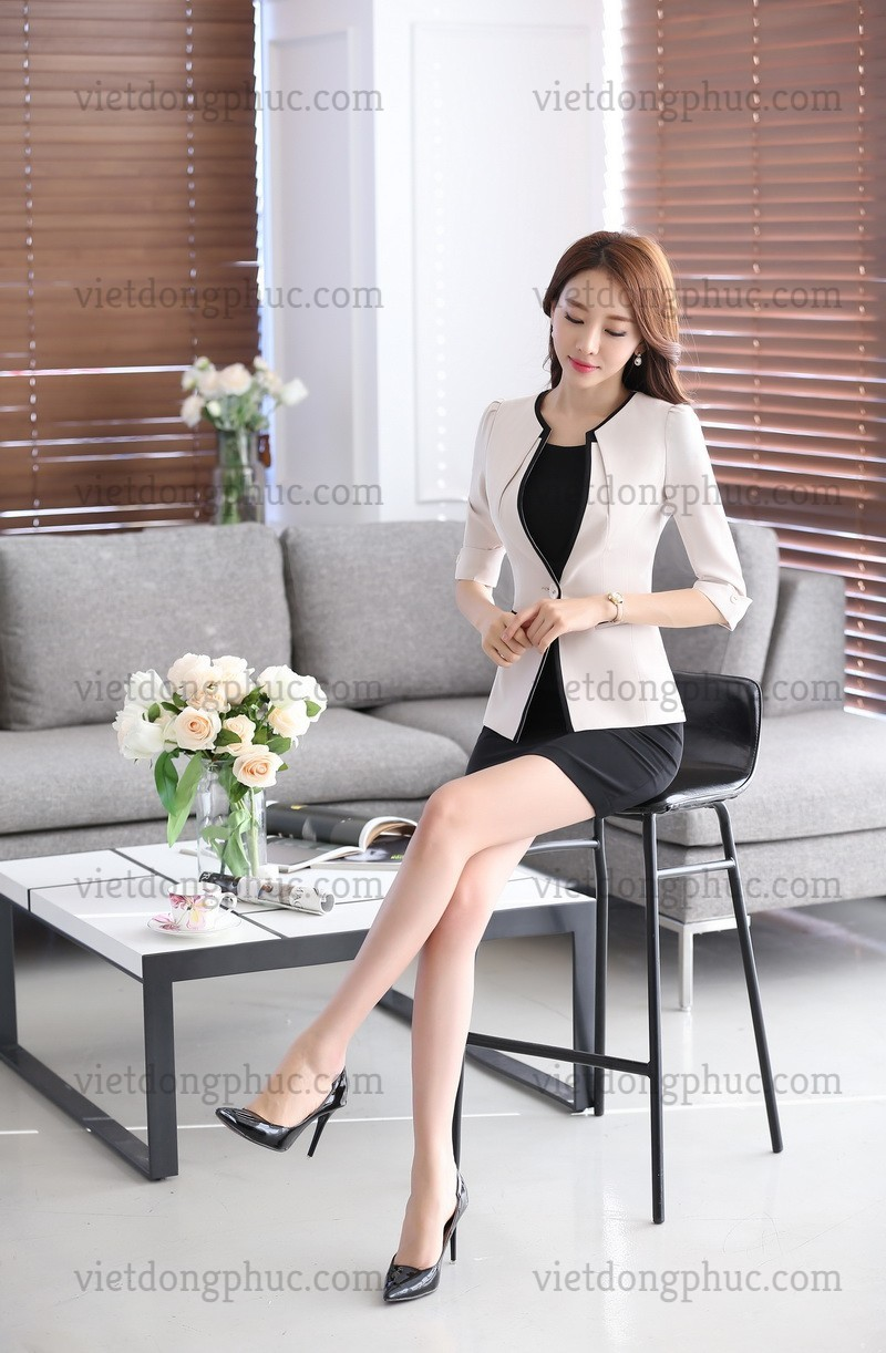 Mẫu đồng phục áo vest nữ cao cấp giá rẻ, uy tín, chất lượng nhất
