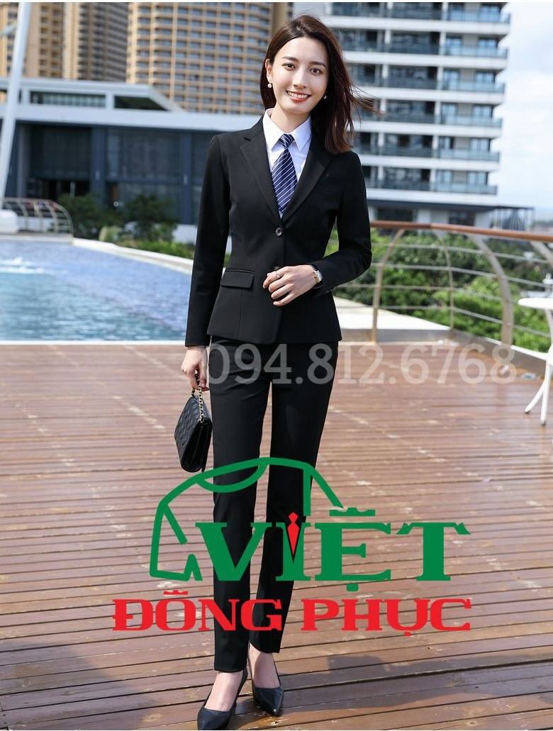 Đồng phục áo Vest Nữ 05