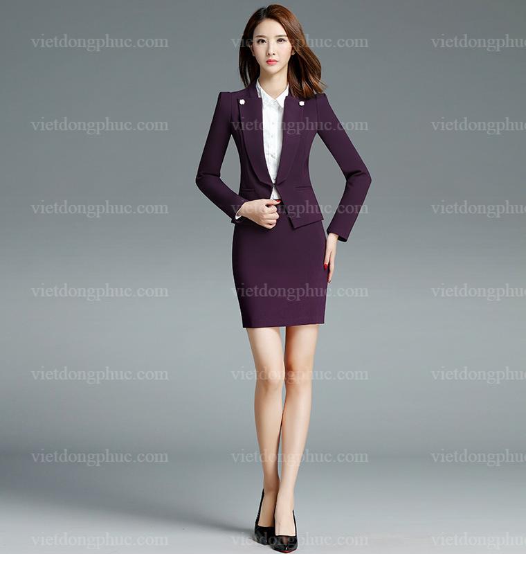 Đồng phục áo Vest Nữ 06