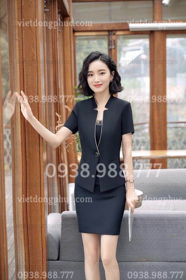 Công ty may áo vest nữ đồng phục theo yêu cầu giá tốt, nhanh nhất tại Hà Nội