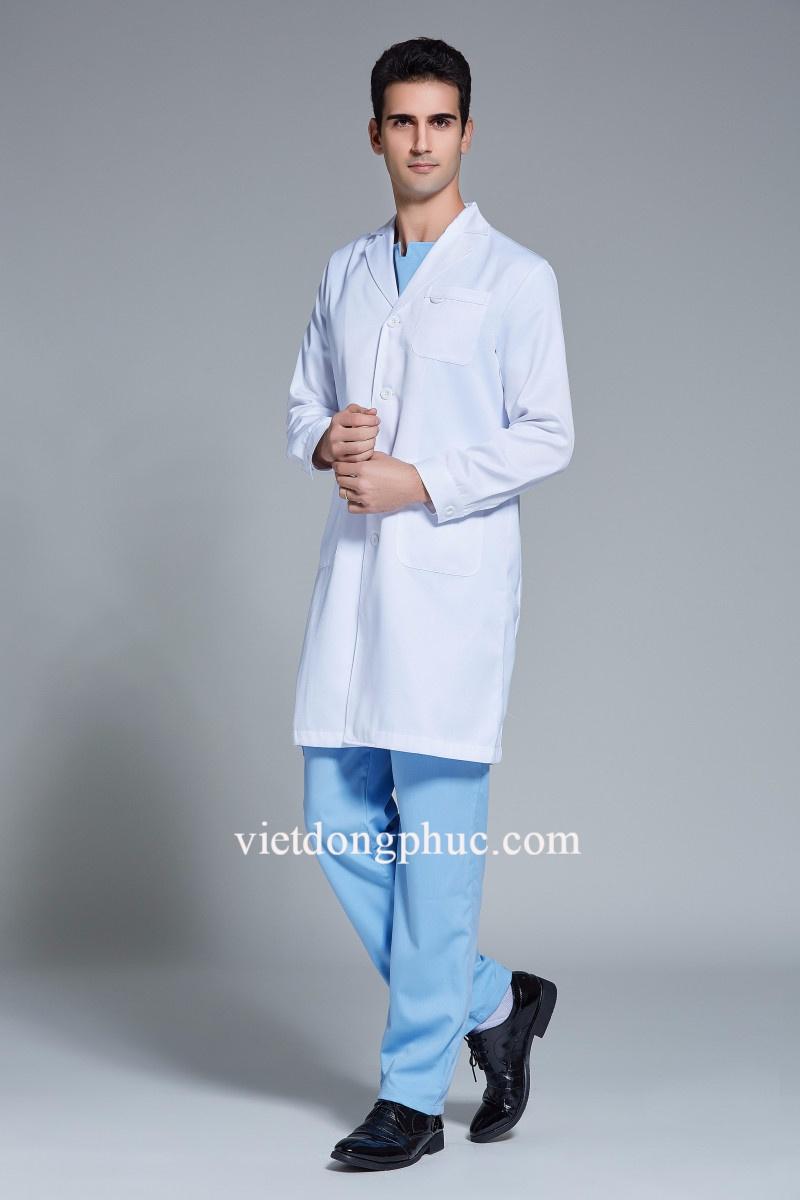 Xưởng may đồng phục bác sỹ giá rẻ, in thêu sắc nét, đảm bảo chất lượng