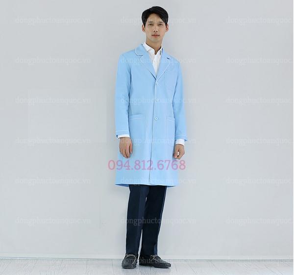 Mẫu áo blouse bác sĩ nam thời trang, chất lượng đảm bảo, giá cả hợp lý