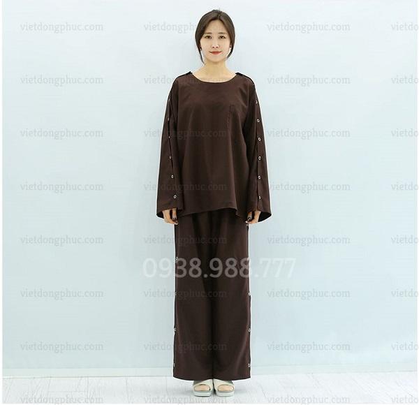 Mẫu quần áo bệnh nhân có thiết kế tiện lợi, đẹp và độc đáo