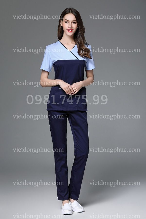 Trang phục điều dưỡng viên, y sỹ kiểu dáng thời trang, thoải mái khi mặc